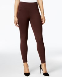 Jag Ricky Ponte Leggings Brown