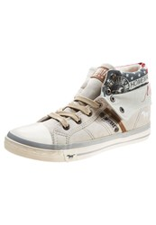 Mustang Hightop Trainers Ice Off White