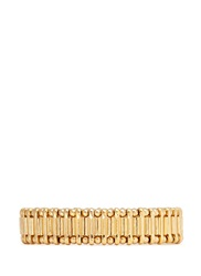 Philippe Audibert Metal Bead Elastic Bracelet Metallic