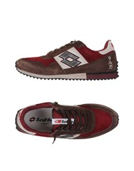 Lotto Leggenda Sneakers Maroon