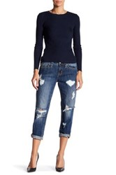 Rock Revival Anabela Boyfriend Jean Blue