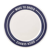 Kate Spade Order's Up Accent Plate Dine In Take Out