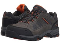 Hi Tec Bandera Ii Low Waterproof Charcoal Graphite Burnt Orange Men's Shoes Brown
