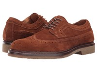 Trask Corbin Snuff Water Resistant Suede Men's Flat Shoes Brown