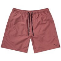 Saturdays Surf Nyc Timothy Solid Swim Short Red