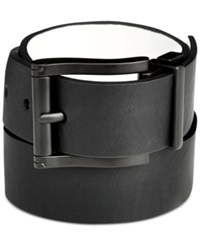 Buffalo David Bitton Reversible Matte Black Belt