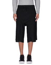Tom Rebl 3 4 Length Shorts Black