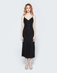 Organic By John Patrick Long Bias Slip In Black