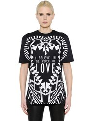 Givenchy Power Of Love Cotton Jersey T Shirt