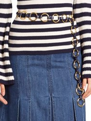 Michael Kors O Ring Belt Maritime