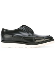 Oamc White Sole Oxford Shoes Black