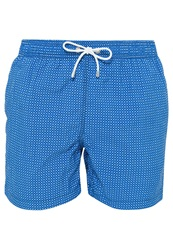 Hackett Miniflower Swimming Shorts Blau Blue