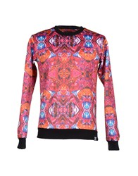 Pharmacy Industry Topwear Sweatshirts Men Fuchsia