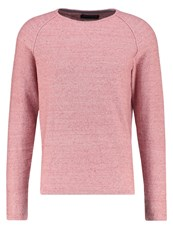 Jack And Jones Jprtrevor Jumper Rosewood Mottled Rose