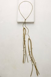 Anthropologie Astrapia Wrap Necklace Sand