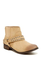Roxy Weaver Studded Buckle Chelsea Boot Brown