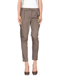 Manila Grace Trousers Casual Trousers Women Dove Grey