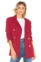C Meo Collective Visceral Blazer Red
