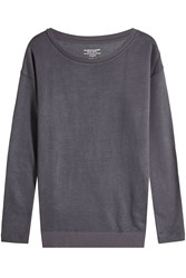 Majestic Sweatshirt With Lace Up Sides Black