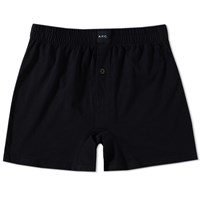 A.P.C. Calecon Cabourg Trunk Black