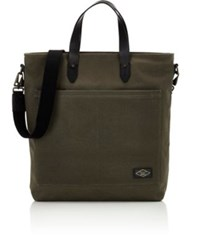 Rag And Bone Men's Zip Tote Dark Green