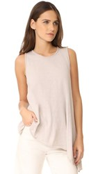 Three Dots Asymmetrical Tank Beige Sand
