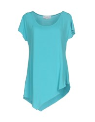 Anna Rachele T Shirts Turquoise