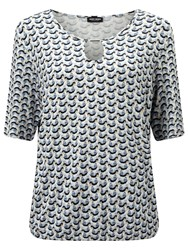 Gerry Weber Printed Blouse Blue Beige