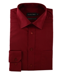 Double Two Long Sleeved Shirt Red