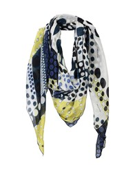 Manila Grace Accessories Scarves Ivory