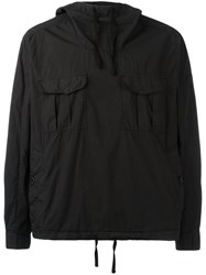 Stone Island Shadow Project Front Pocket Anorak Black