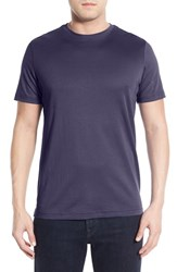 Robert Barakett Men's 'Georgia' Crewneck T Shirt Deep Purple