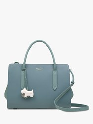 Radley Liverpool Street Medium Leather Grab Bag Teal