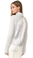 Kaufman Franco Merino Turtleneck Sweater Pearl