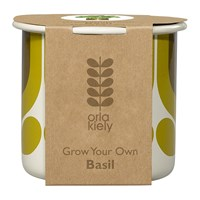 Orla Kiely Grow Your Own Kit Striped Tulip Pot Basil