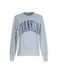 Franklin And Marshall Topwear Sweatshirts Men Light Grey