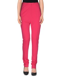 Leonard Trousers Casual Trousers Women Fuchsia