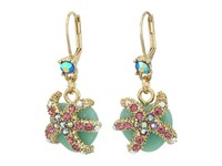 Betsey Johnson Betsey The Sea Starfish Drop Earrings Multi Earring