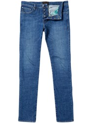 Ted Baker Selsyn Straight Fit Jeans Light Wash