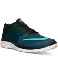 Nike Men's Fs Lite Run 3 Running Sneakers From Finish Line Midnight Turq Clear Jade