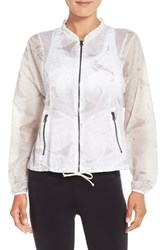 Alo Yoga Women's Alo 'Sunset' Mesh Inset Jacket Palm Springs Neutral