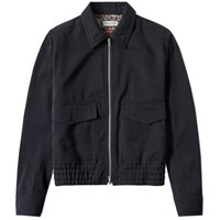 Dries Van Noten Vrazer Leopard Lined Jacket Blue