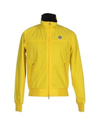 North Sails Coats And Jackets Jackets Men Yellow