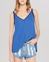 Sandro Top Time Sleeveless Ocean Blue