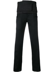 D.Gnak Perfectly Fitted Trousers Black