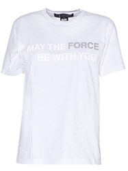 Anrealage 'Collection Star Wars' T Shirt White