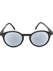 See Concept Round Frame Sunglasses Black