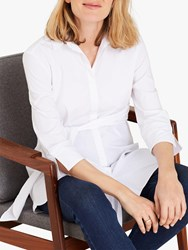 Isabella Oliver Kelly Maternity Shirt Pure White