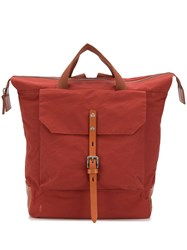 Ally Capellino Frances Backpack Red