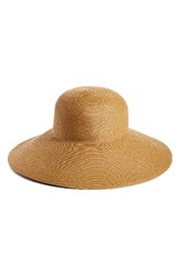Eric Javits Women's Bella Squishee Sun Hat Beige Natural